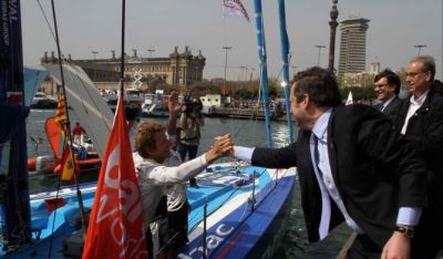 Jean Pierre Dick e Loyck Peyron vencem a Barcelona World Race
