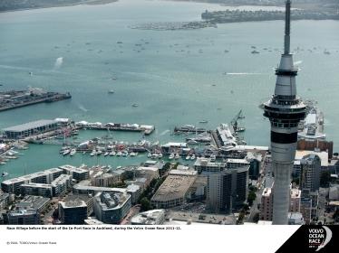 Auckland será a parada antes dos barcos partirem para Itajaí