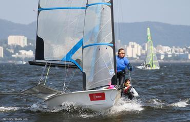 Dupla mostrou em águas cariocas porque é a líder do ranking mundial