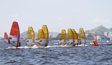 A flotilha de RS:X