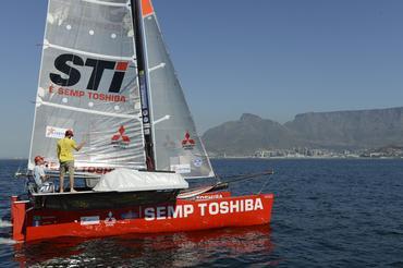 Betão e Igor já treinam a bordo do Picolé