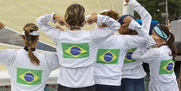 As meninas da Marinha do Brasil na edição 2012