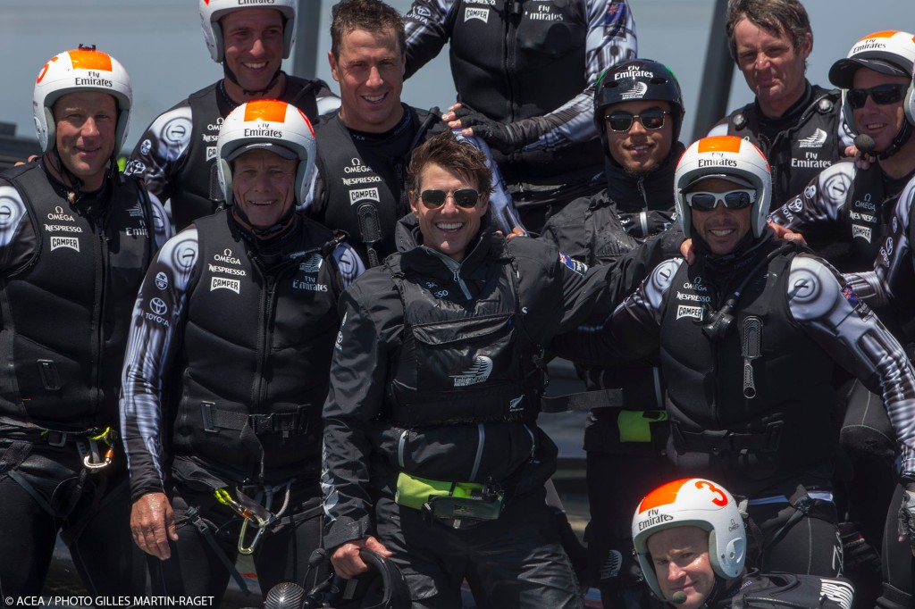 Depois de mais uma vitória, o ETNZ recebeu a visita de Tom Cruise