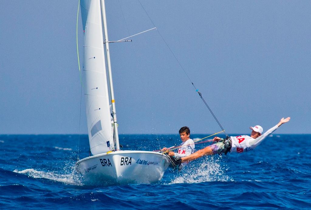 A dupla em ação em Limassol