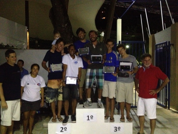 Os campeões do Baiano de Snipe