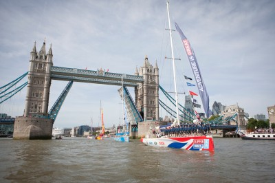 A Clipper Race saiu de Londres e chega ao Rio nesta semana.