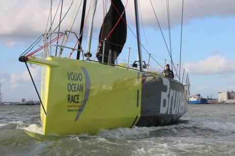 Team Brunel já está pronto para primeira velejada longa