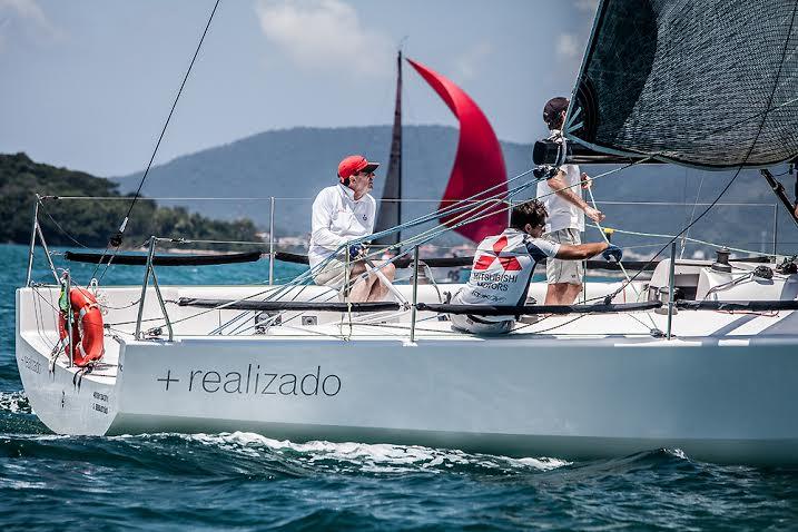 Gabriel Heusi registrou a volta discreta de Souza Ramos às regatas brasileiras
