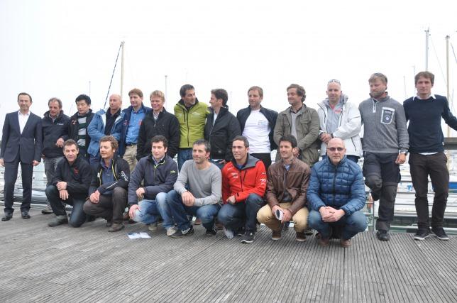 Os skippers da Vendée Globe