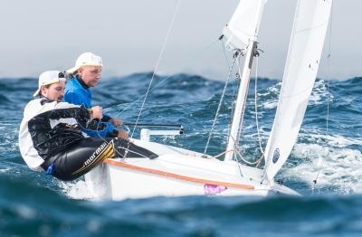 Dupla Alexandre Paradeda e Gabriel Kieling conquistou a medalha de ouro nos Jogos Sul-Americanos 2014, em Vinã del Mar, no Chile. Crédito Bernardita Grez