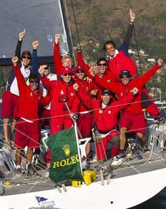 Equipe comemora o título em 2012