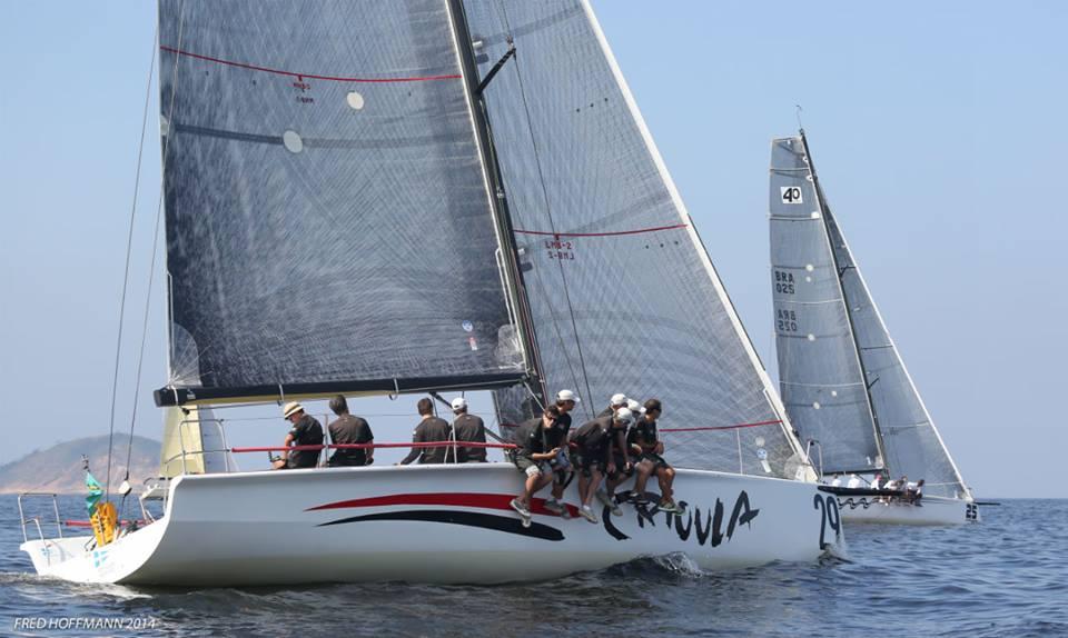 Fred Hoffmann (sempre ele!) registrou o barco gaúcho em águas cariocas