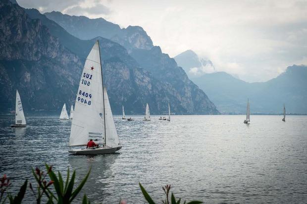 Vento fraco no lago di Garda