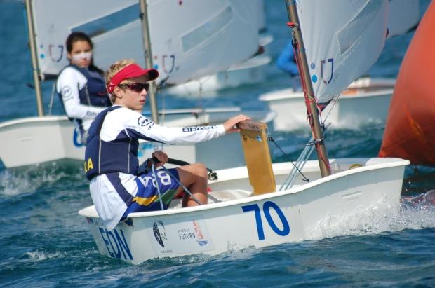 O campeão Tiago Quevedo