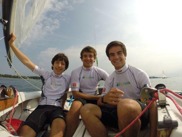 José, Thomas e Felipe