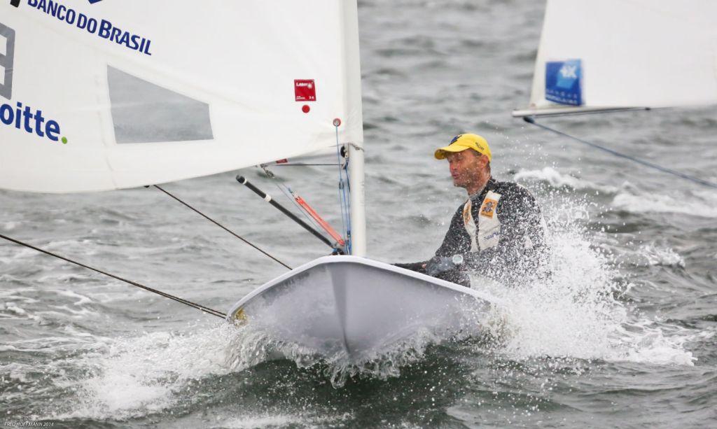Fred Hoffmann registrou o multicampeão nas águas da Guanabara