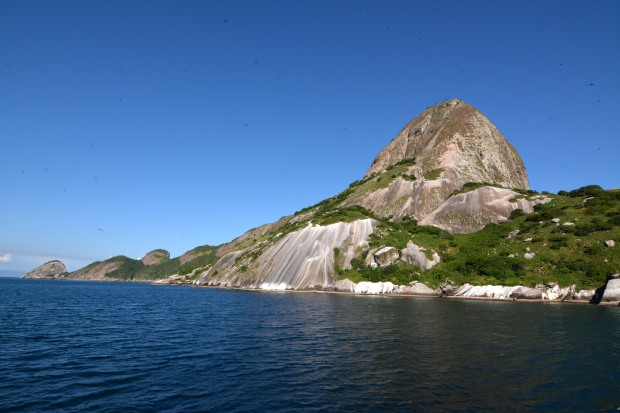 O arquipélago de ALcatrazes