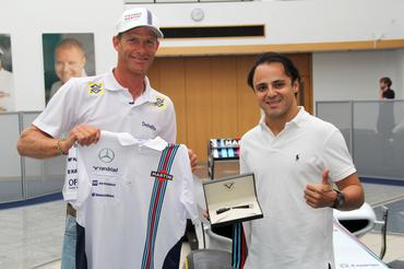 Scheidt e Massa na Williams