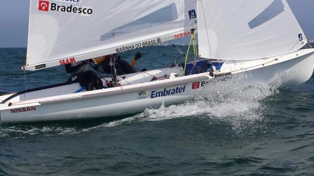 Renata Decnop e Isabel Swan melhoraram na classificação do 470