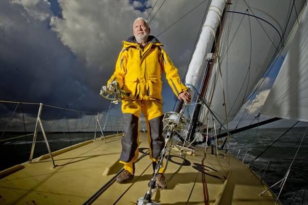 Sir Robin Knox-Johnston será o velejador mais velho a largar nesta edição