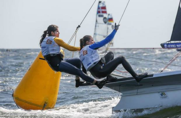Martine e Kahena disputarão a final da Copa do Mundo de Vela