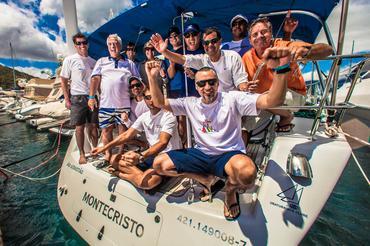 Equipe do Montecristo comemora o recorde da prova. Foto: Marcos Mendez