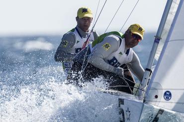 A dupla brasileira na foto de Gilles-Martin Raget/SSL