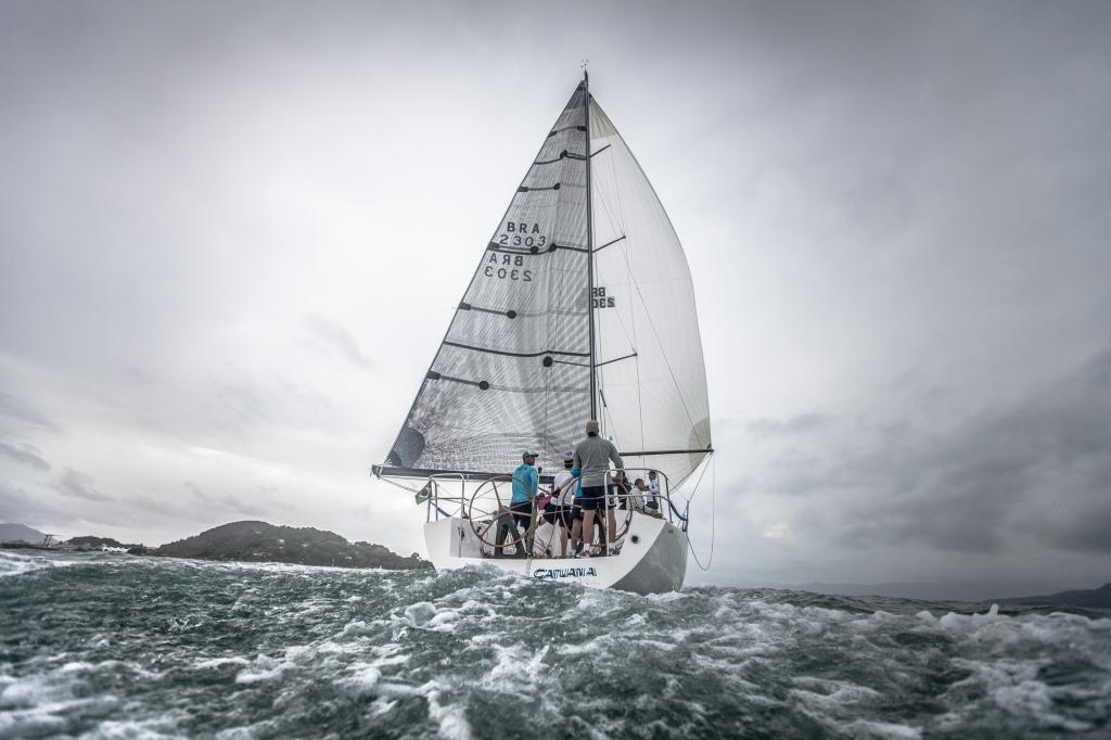 Catuana é o atual campeão da regata. Foto de Gabriel Heusi
