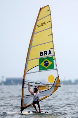 Na foto de Bruno Miani, Zibimba evolui ontem rumo a mais um ouro pan-americano. Duca!!
