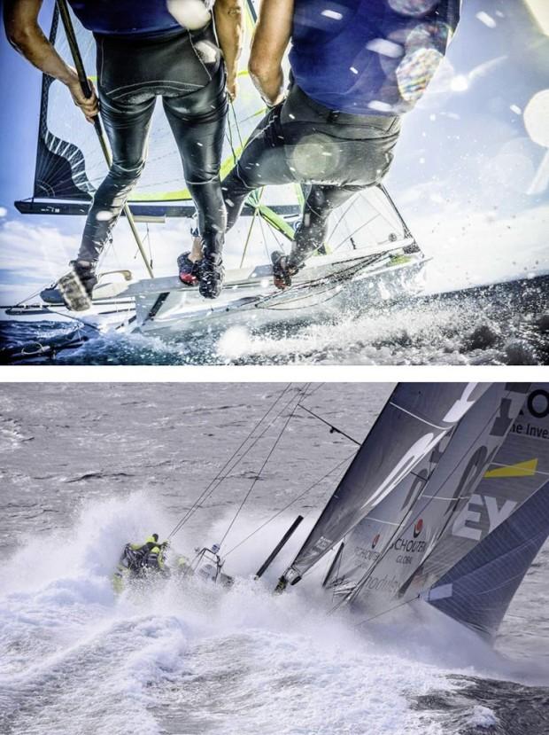 Nikos Zagas, com a foto de cima, ganhou o prêmio principal. E o Yacht Racing Fórum escolheu a imagem de Rick Tomlinson (a foto de baixo, acima) como a melhor. Lindas!