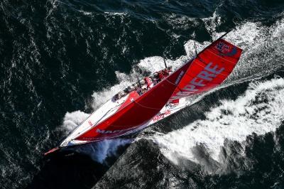 Leg 2. Arrivals from Lisbon to Cape Town. Photo by Ainhoa Sanchez/Volvo Ocean Race. 24 November, 2017.